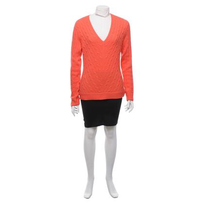 Ralph Lauren Cashmere sweater in orange