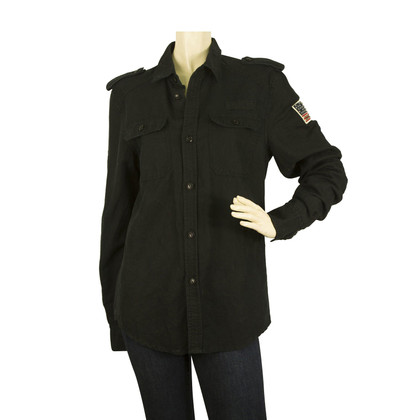 Zadig & Voltaire Military style blouse