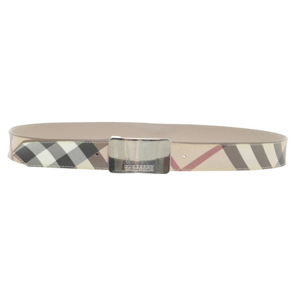 Burberry Belt in check pattern