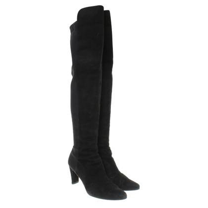 Stuart Weitzman Boots in Black