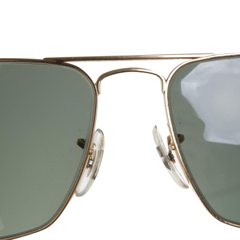 ray ban mit grünen gläsern