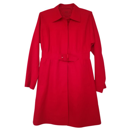 Hugo Boss Hugo Boss coat in red, model Morey.