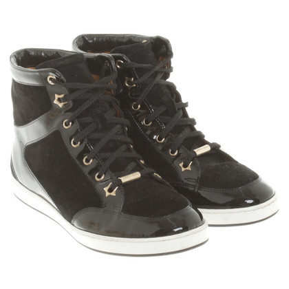 Jimmy Choo Sneakers in pelle mix