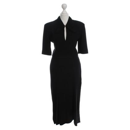 Roland Mouret Wool Dress in black