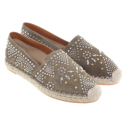 Valentino Espadrilles with studs trim