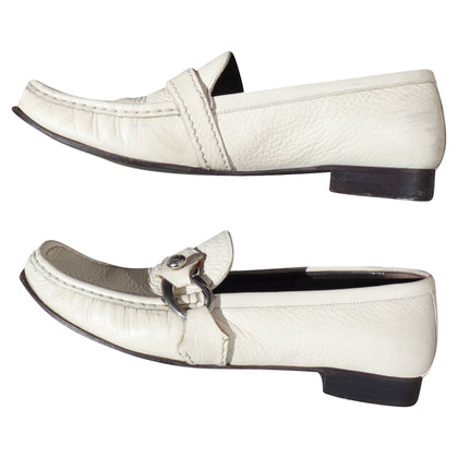 Bally Loafer in white