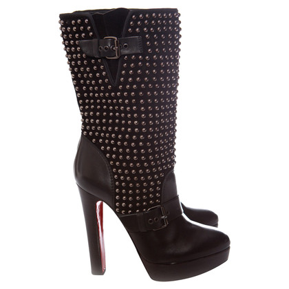 Christian Louboutin Boots with studs trim