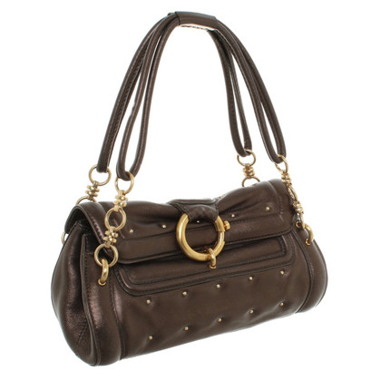 Rena Lange Handbag in brown metallic