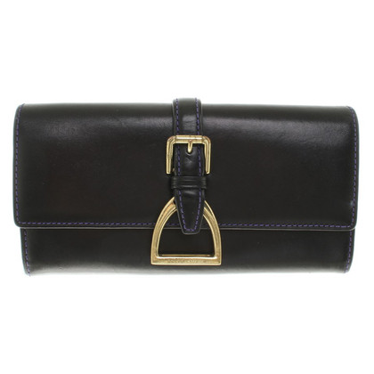 Ralph Lauren Leather wallet in black