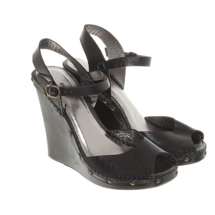 DKNY Sandals with wedge heel