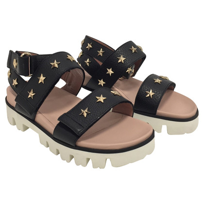 Red Valentino leather sandals