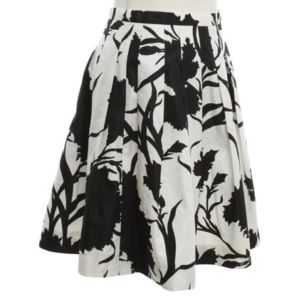Christian Dior Pleated skirt with pattern