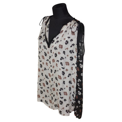 Schumacher Silk top with floral pattern