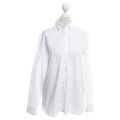 Hugo Boss Bluse in Weiß
