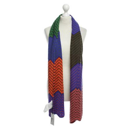 Missoni Mélange de laine écharpe