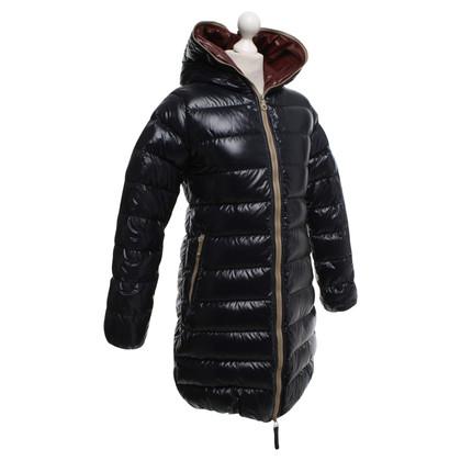 Duvetica Giù cappotto blu scuro