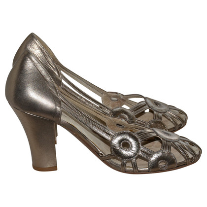 Dries van Noten pumps met cut outs