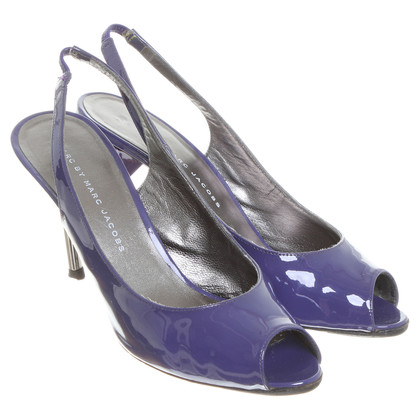 Marc by Marc Jacobs Peeptoes in Violett