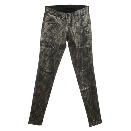 J Brand Pantaloni stampa animale