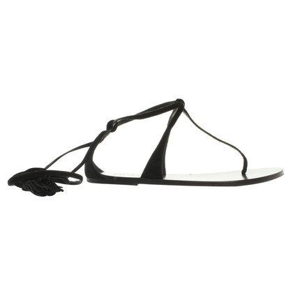 Isabel Marant Lace-up sandals in black