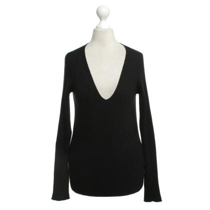 Malo Maglione di cashmere in nero