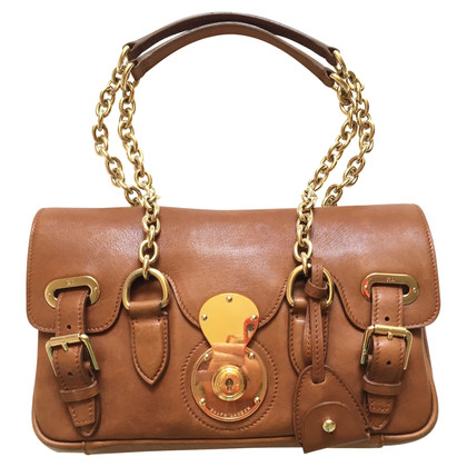 Ralph Lauren Ricky gold chain shoulder bag
