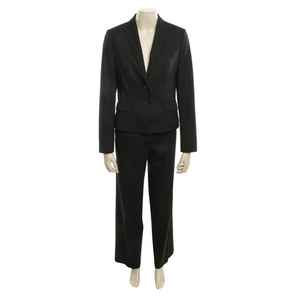 Hugo Boss Pantsuit in zwart pinstriped