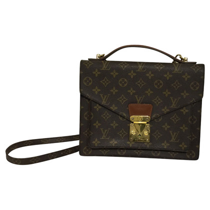 "Louis Vuitton ""Monceau Monogram Canvas"""