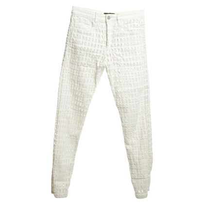 Isabel Marant Jeans with lace pattern