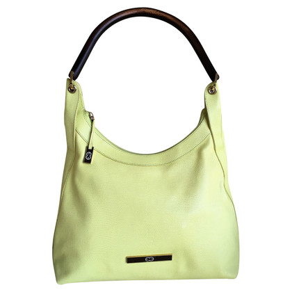 Escada Handbag in yellow