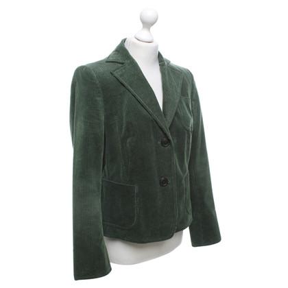 Akris Cord Blazer In Green