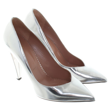 Red Valentino Silver colored pumps