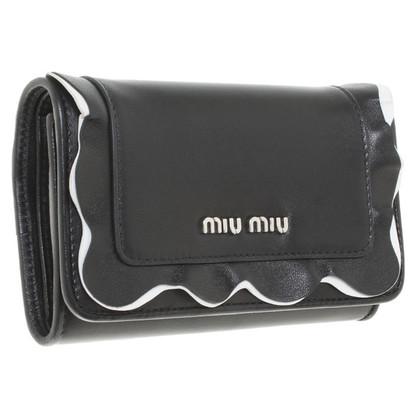 Miu Miu Wallet in zwart