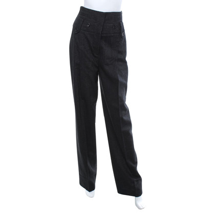 Karen Millen Creased trousers in black