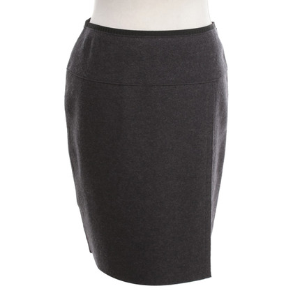 Marc Cain Wool skirt in dark gray