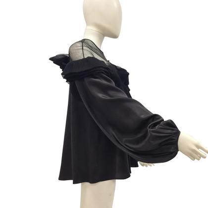 Givenchy Zijden blouse in zwart