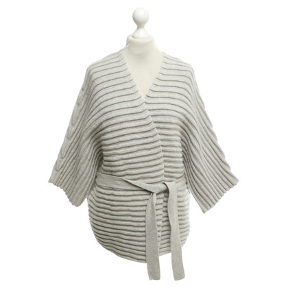 Bloom Knitted kimono in grey