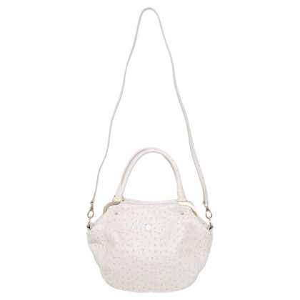 Aigner Ledertasche in Creme