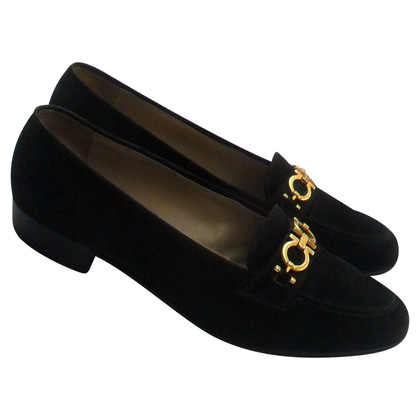 Salvatore Ferragamo Slipper with short block heel