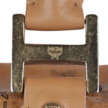 Spielraum Online-Fälschung Billiges Outlet-Store MCM Handtasche Braun Viele Farben Verkaufsshop cN8Dhxw