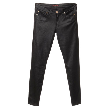 7 For All Mankind Jeans in leather look