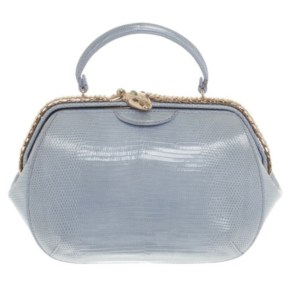 Bulgari Handbag made of lizard leather