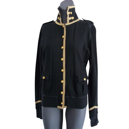 Polo Ralph Lauren Jacket in black / gold