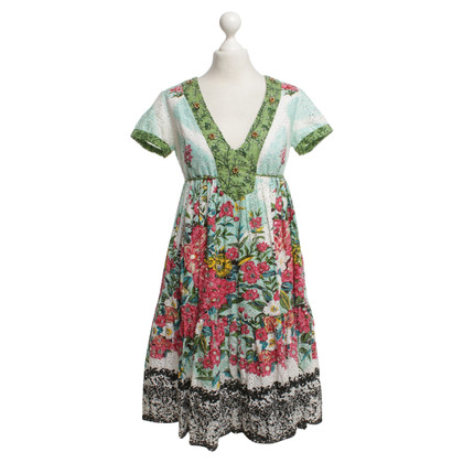 Twin-Set Simona Barbieri Kleid mit floralem Muster