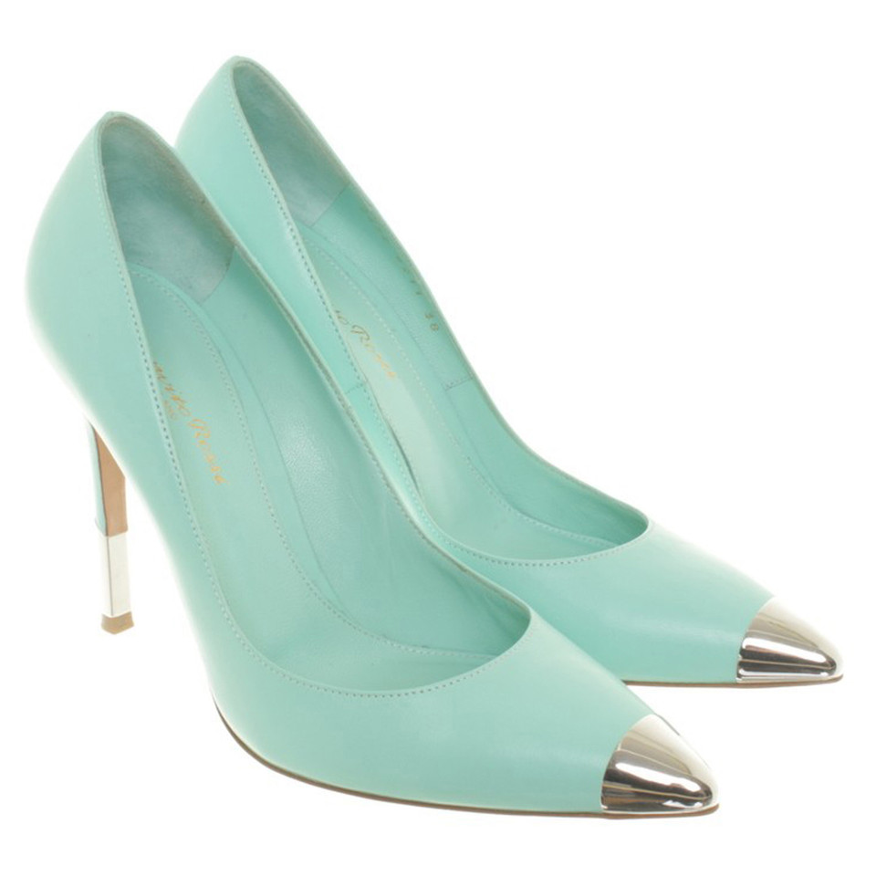 Gianvito Rossi Pumps in Türkis