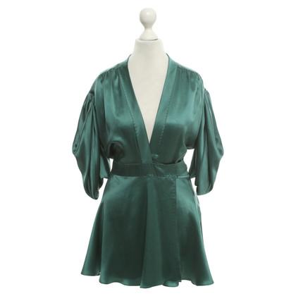 Stella McCartney Silk tunic in green