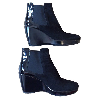 Hogan Ankle boots with wedge heel