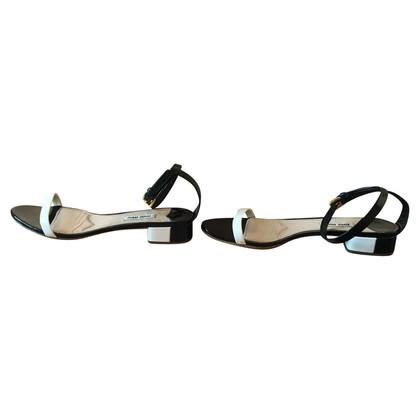 Miu Miu Sandals of patent leather