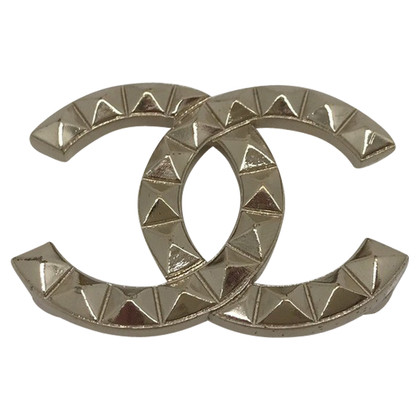 Chanel Brooch in silver