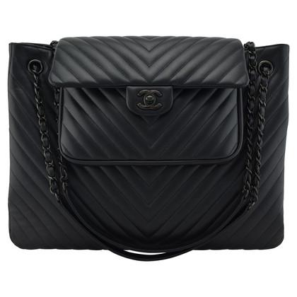 Chanel Chevron Tote Bag